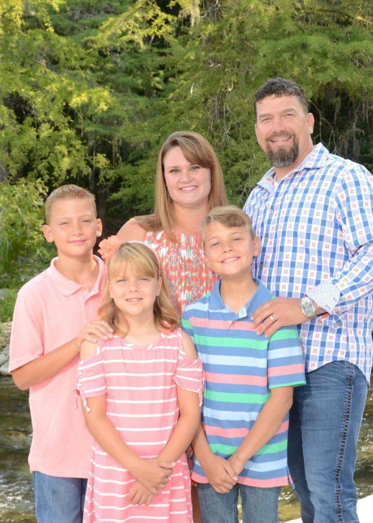 Dr. Hammons Family photo