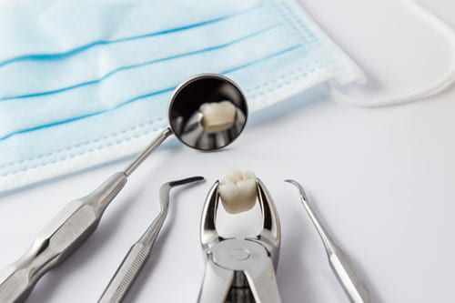 A tooth extracted at River Run Family Dentistry